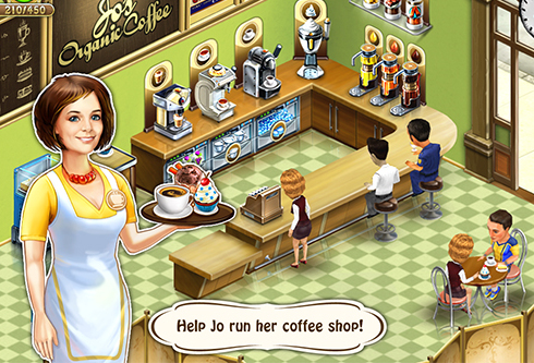 Game Localization: Coffee Shop: Cafe Business Sim
