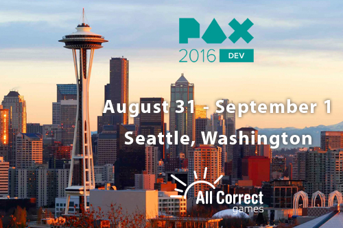 Hurry up and arrange a meeting with us at PAX Dev