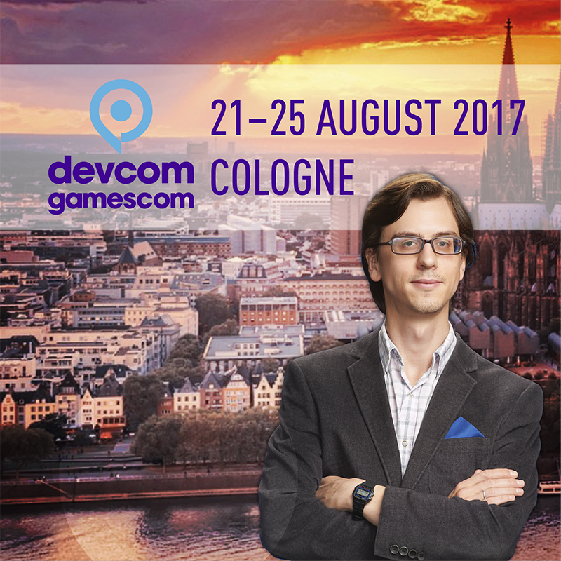 PARTICIPATION IN THE DEVCOM AND GAMESCOM CONFERENCES IN COLOGNE