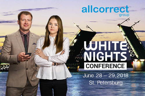 Allcorrect is Coming to White Nights in St. Petersburg