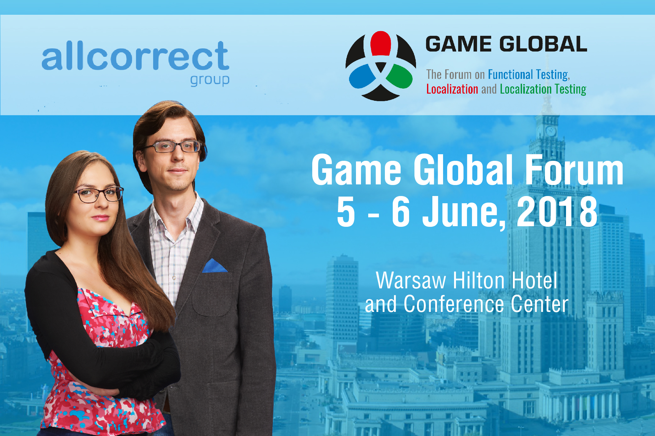 We invite you to attend Game Global Forum