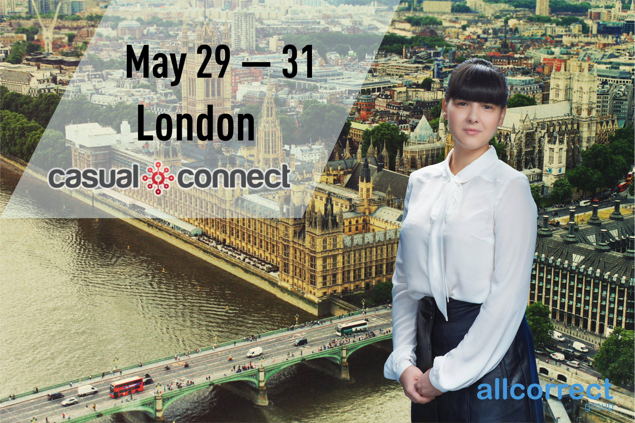 Allcorrect at Casual Connect London