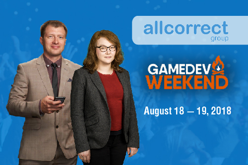 ALLCORRECT PRESENTATION AT GAMEDEV WEEKEND