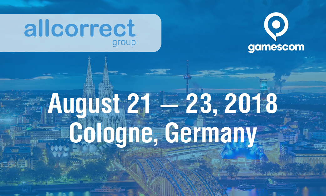 Come see us at Gamescom in Cologne