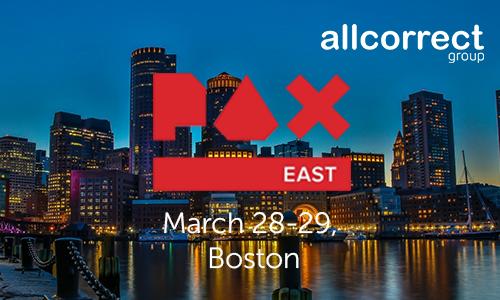 Meet us at PAX East!