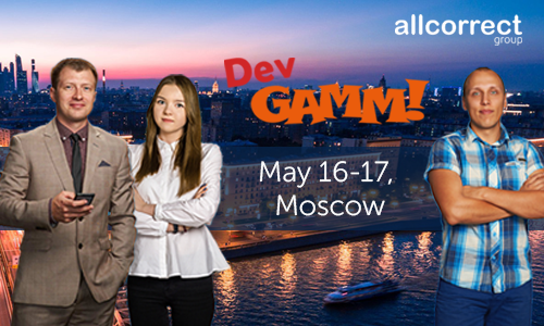 We invite you to attend DevGAMM in Moscow
