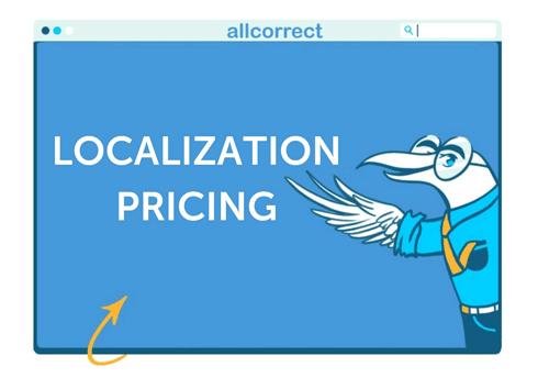 Localization Pricing